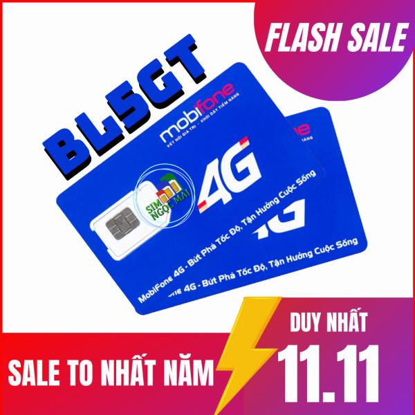 SIM 3G/4G MOBI BL5GT FULL DATA CHỈ 50K/THÁNG