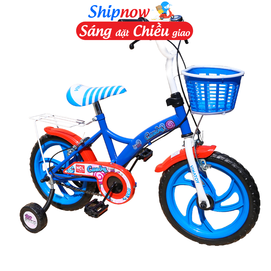 Giá bán Xe đạp trẻ em Nhựa Chợ Lớn 12 inch K105 - M1818-X2B