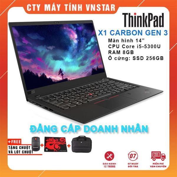 Bảng giá Laptop Lenovo ThinkPad X1 Carbon Gen3 i5-5300U   Ram 8GB   SSD 256Gb 14   FHD - Nhập khẩu USA Phong Vũ