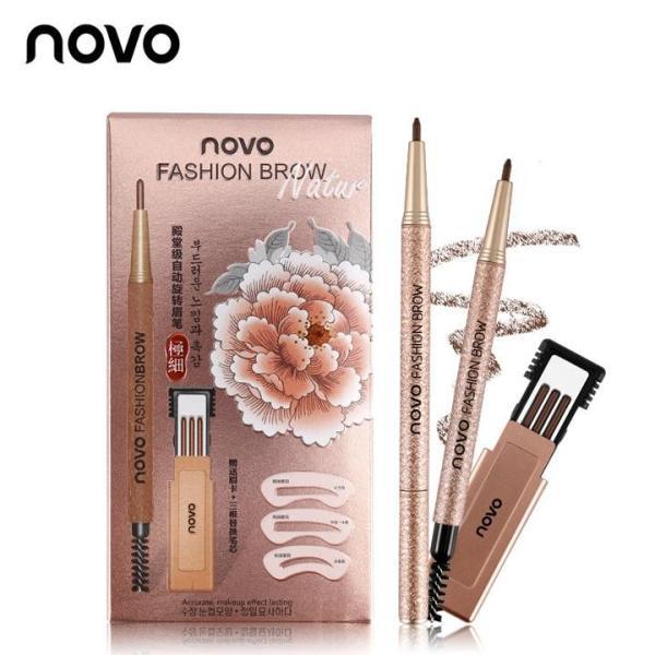 Bộ chì kẻ mày định hình 3 kiểu Novo Fashion Brow giá rẻ