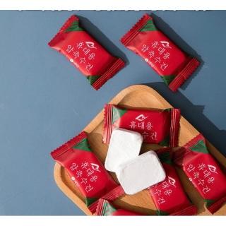 Khăn giấy ướt dạng nén Hàn Quốc - Tiện lợi khi đi du lịch bỏ túi thumbnail