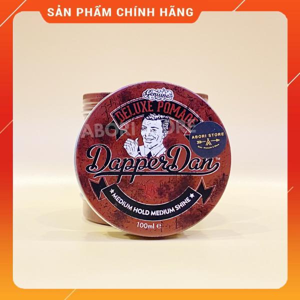 Gel vuốt tóc Dapper Dan Deluxe Pomade dành cho mọi loại tóc, giữ nếp tốt và linh hoạt, độ bóng trung bình giá rẻ