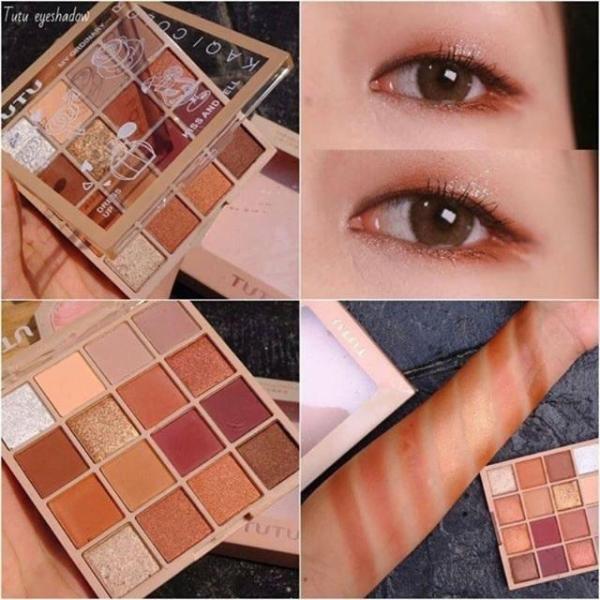 TUTU - Bảng mắt 16 màu KAQI COLOR hàng nội địa Trung