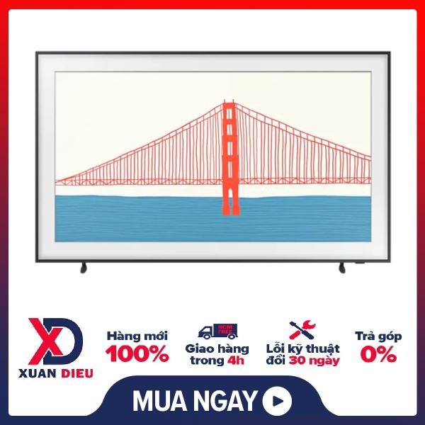 [HCM][Trả góp 0%]Smart Tivi The Frame 4K Samsung 50 Inch QA50LS03AAKXXV - Miễn phí vận chuyển HCM chính hãng