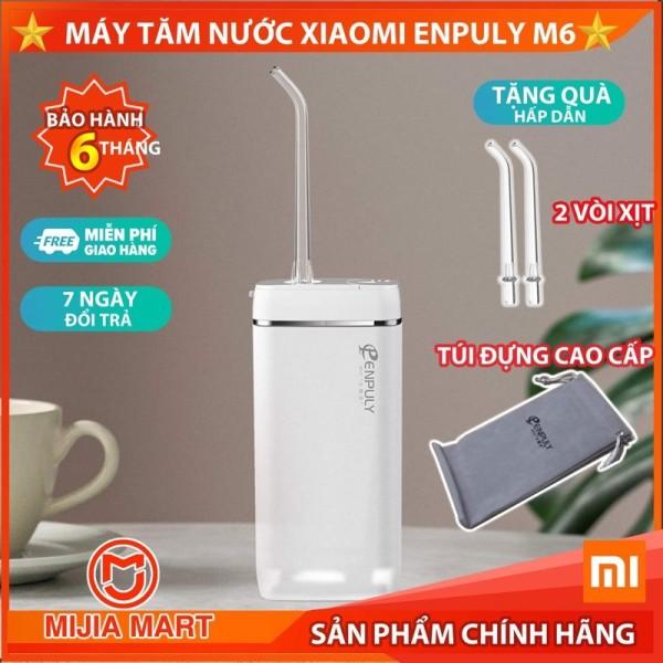 ✅[2020] Máy tăm nước mini Xiaomi Enpuly, dung tích 130 ml, pin 1100 Mah, nhỏ gọn di động