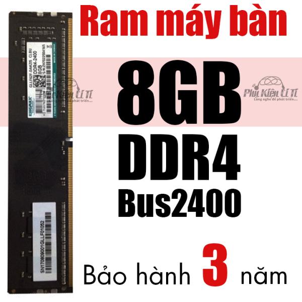 Bảng giá Ram máy tính bàn DDR4 KingMax 8GB Bus 2400 bảo hành 3 năm Phong Vũ