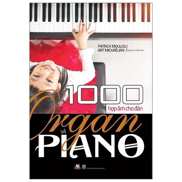 Fahasa - 1000 Hợp Âm Cho Đàn Organ Và Piano (Tái Bản)