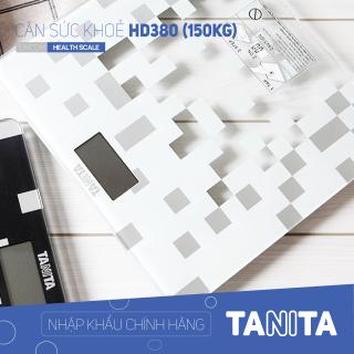 Cân sức khỏe điện tử TANITA HD380,chính hãng nhật,cân điện tử,cân cơ học,cân chính hãng,cân nhật bản,cân sức khoẻ y tế,cân sức khoẻ gia đình,cân sức khoẻ cao cấp,120kg,130kg,150kg,Cân phân tích chỉ số cơ thể,Cân sức khoẻ mini thumbnail