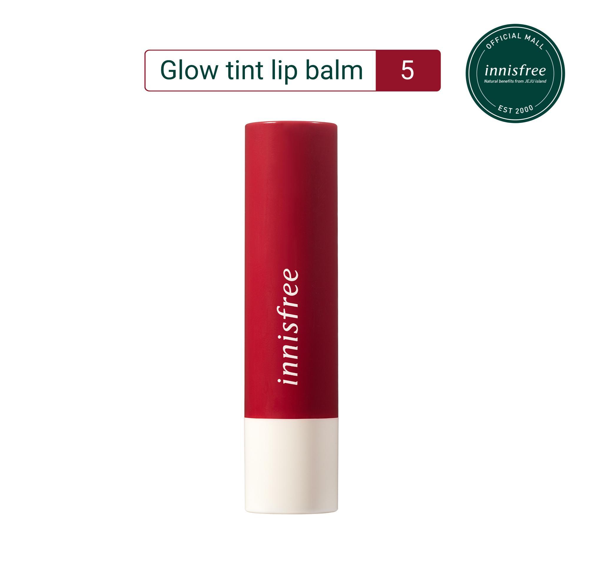 Son dưỡng có màu innisfree Glow Tint Lip Balm #5 3.5g tốt nhất