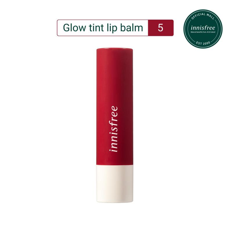 Son dưỡng có màu innisfree Glow Tint Lip Balm #5 3.5g
