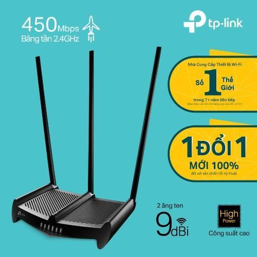 Giá Bộ phát Wi-Fi xuyên tường 3 ăng ten. Model: TL-WR941HP