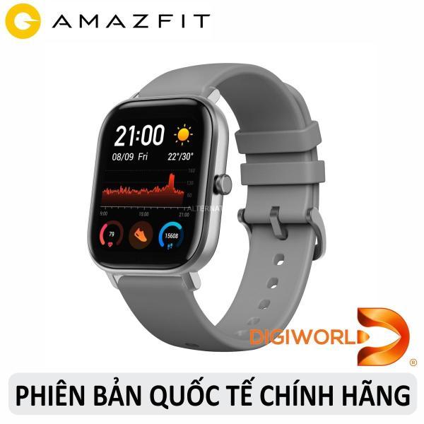 Đồng hồ thông minh Xiaomi Amazfit GTS - Hàng chính hãng Digiworld - Phiên Bản Quốc Tế - BH 12 Tháng 1 đổi 1