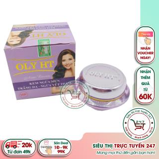 Kem ngừa mụn - Trắng da - Ngừa vết thâm OLY HT 25g (Tím) Siêu thị trực tuyến 247 thumbnail