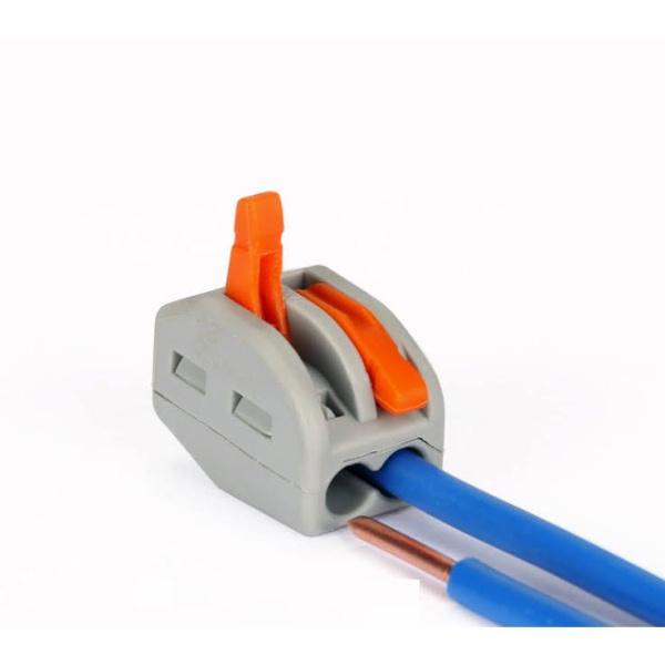 Bộ 10 chiếc cút nối dây điện nhanh PCT-212 213 215 KV774 - chịu tải 32A