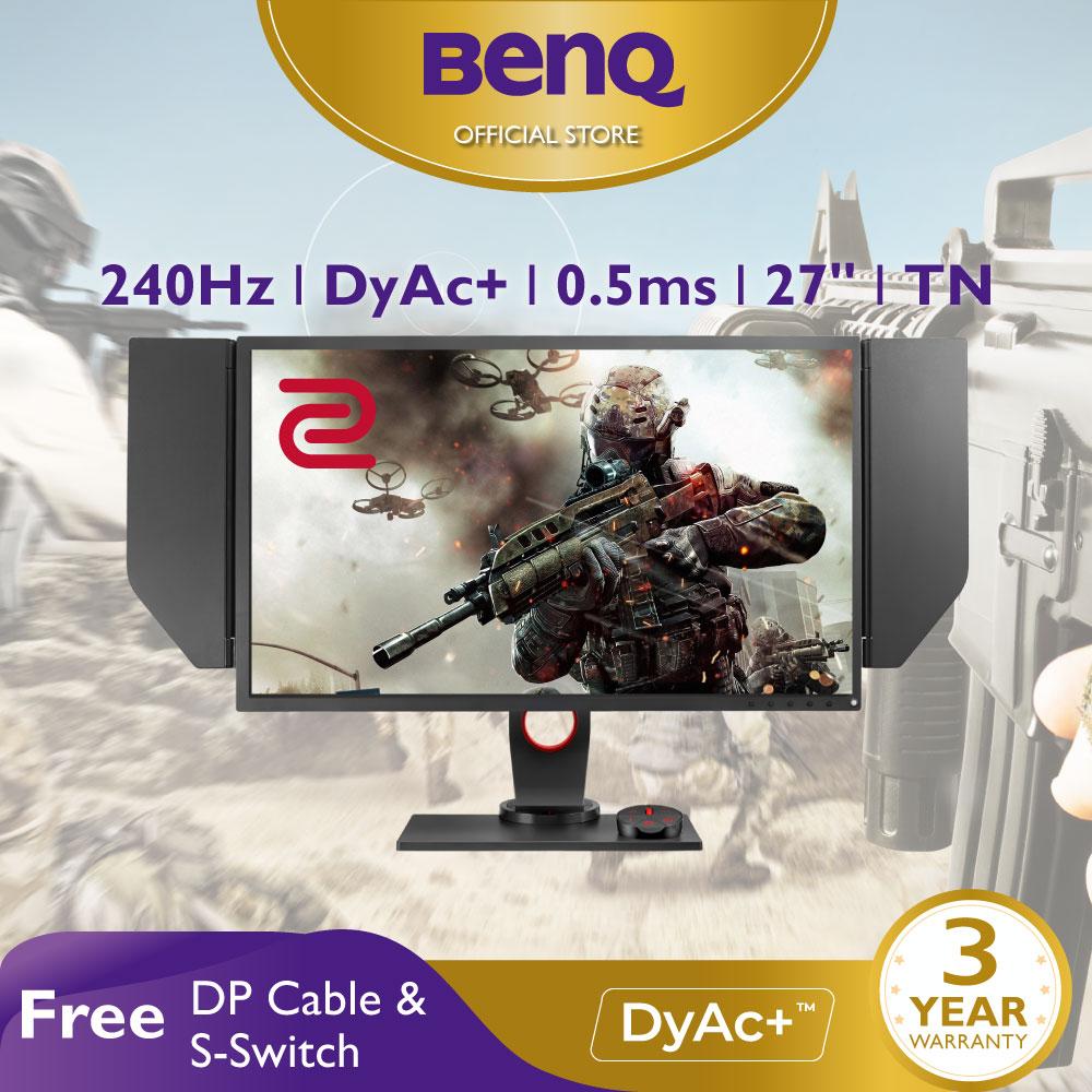 Màn hình chơi Game FPS BenQ ZOWIE XL2746S 240Hz 27 inch IPS 0.5ms DyAc™ eSports Gaming FPS (CSGO, PUBG, ...)