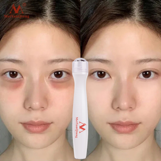 MeiYanQiong Kem bôi mắt thiết kế đầu kim loại tròn giúp chống bọng mắt loại bỏ nếp nhăn chăm sóc quầng thâm mắt tinh chất dưỡng ẩm - INTL thumbnail