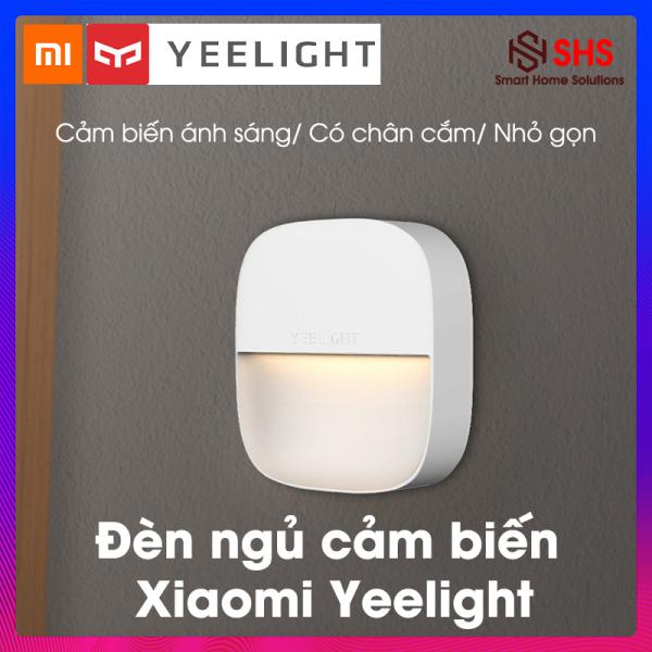 Đèn ngủ cảm ứng, đèn thông minh Xiaomi Yeelight, BH 6 THÁNG, YLYD09YL, cảm biến ánh sáng tự động bật tắt, hình vuông, 0.4W - 2500K, sạc USB, SHS Vietnam