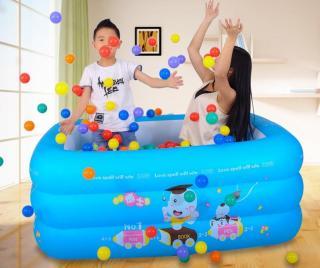 Phao bơi 3 tầng 1.5m cho bé vui chơi thỏa thích thumbnail