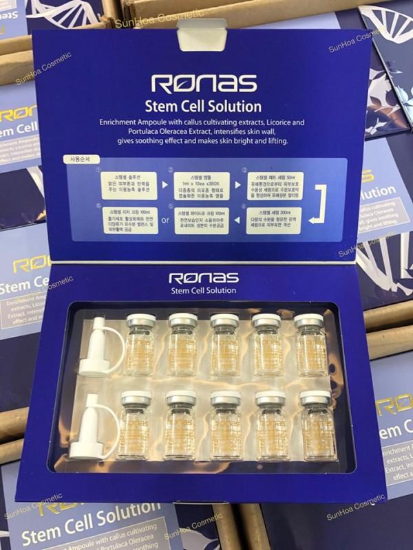 (1hộp) Tinh Chất Tế Bào Gốc-Ronas stem Cell Solution-Mẫu Mới 2020