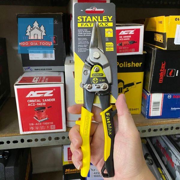 Kéo cắt tôn inox Stanley thép FatMax hàng chính hãng