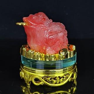 Cóc (Thiềm Thừ) Tỳ hưu Ngọc Phong Thủy Đế Kiếng Xoay thumbnail