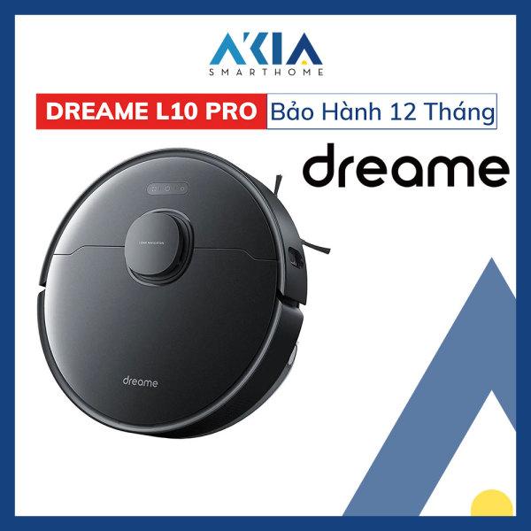 Robot Hút Bụi Lau Nhà Dreame Bot L10 Pro RLS5L Lực Hút Siêu Mạnh 4000Pa pin 5200mAh Bản Quốc Tế Tiếng Việt - Hàng Chính Hãng BH 12 Tháng