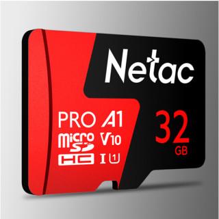 Thẻ nhớ micro sd Netac 32GB U3 Pro Class10 - Hàng Chính Hãng thumbnail
