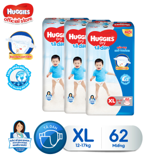 Combo 3 tã dán Huggies Diapers Super Jumbo XL62 thumbnail