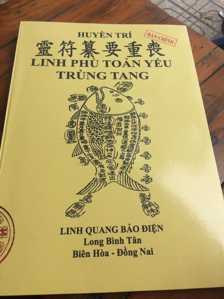 Mua Linh Phù Toản Yếu Trùng Tang - Pháp Sư Huyền Trí