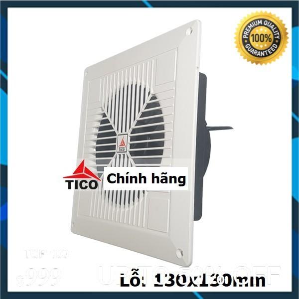 Quạt hút gió TICO mini TC-14AV6, lỗ 130x130mm