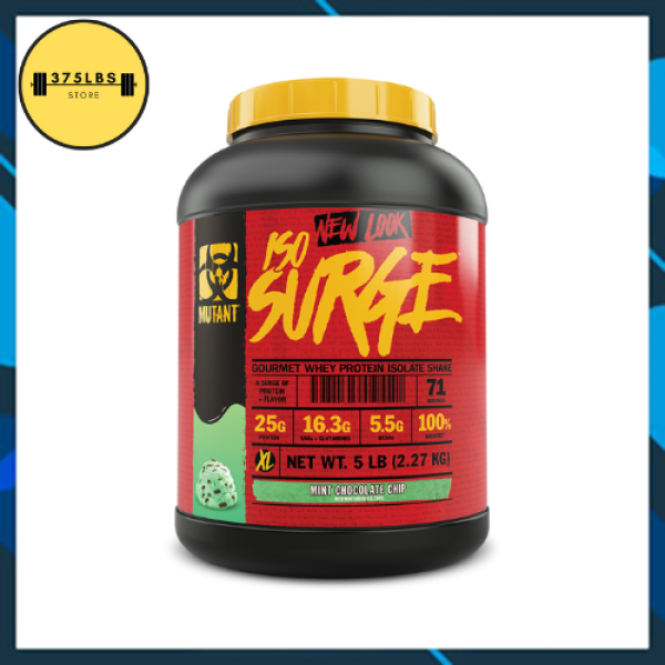 [CHÍNH HÃNG] ISO SURGE Mutant 5 LBS Hydrolyzed Whey Protein Isolate (2.27KG), 76 SERVINGS
