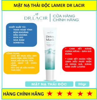 [Tặng kèm quà HOT] Mặt nạ thải độc da detox mask Dr Lacir 20g - mặt nạ thải độc dành cho da nhạy cảm da bị tổn thương da mụn làm sạch sâu lỗ chân lông thải chì cho da ( HÀNG CHÍNH HÃNG - BÁN ĐÚNG GIÁ ) thumbnail
