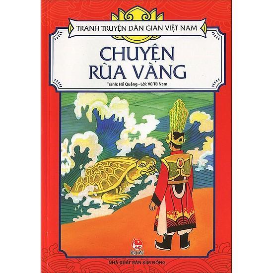 Mua Combo 19: Chuyện Rùa Vàng  - Sự Tích Chùa Bà Đanh - Bảy Điều Ước - Voi Ngà Vàng (Bộ 4 cuốn Tranh Truyện Dân Gian Việt Nam)