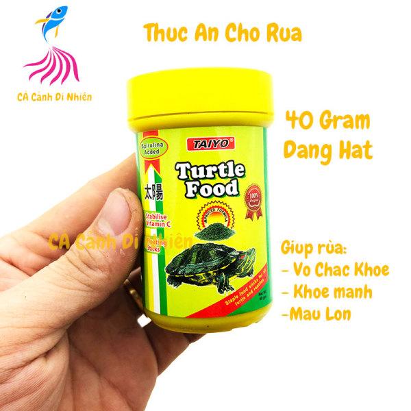 Thức ăn cho RÙA dạng hạt TAIYO Turtle Food 40 Gram T25