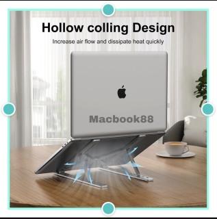 Giá đỡ LAPTOP, MACBOOK, IPAD bằng nhôm có thể điều chỉnh được độ cao, đế tản nhiệt laptop, đế kê laptop nhôm thumbnail