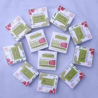 (Au) combo 10 hộp kem  hazeline matcha + lựu đỏ dưỡng trắng  3g/ hộp + tặng 1 hộp cùng loại nhập khẩu