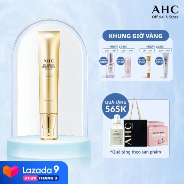 Kem Mắt Chống Lão Hóa Cho Toàn Mặt  AHC Age Defense Real Eye Cream For Face 40ml
