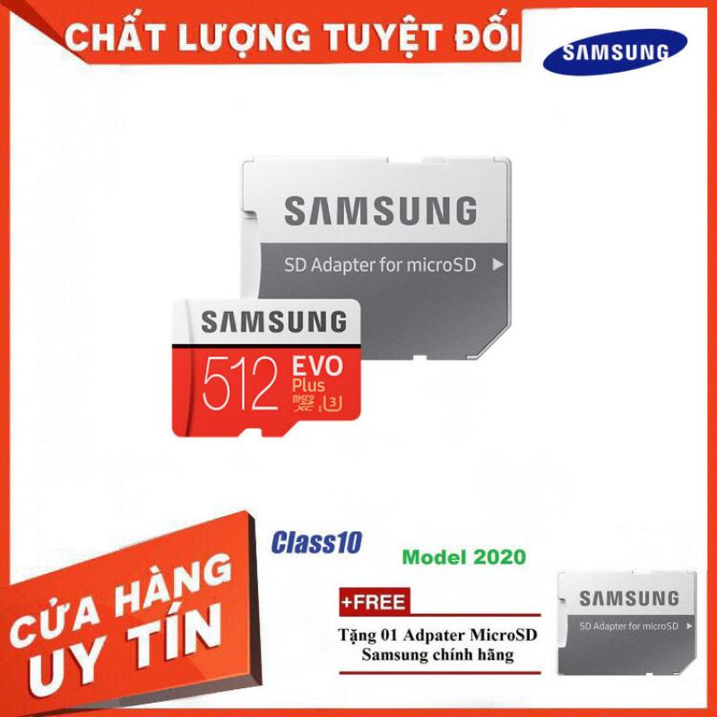 [New 2021] Thẻ Nhớ MicroSDXC Samsung EVO Plus U3 512GB 100MB/s MB-MC512H - Hàng Chính Hãng