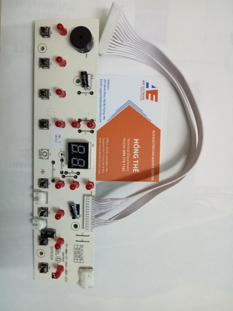 Bo mạch hiển thị quạt điều hòa Sunhouse SHD7720