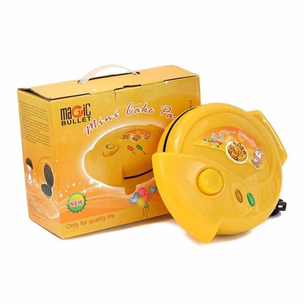 Máy nướng bánh bông lan điện hình thú (Màu Vàng)