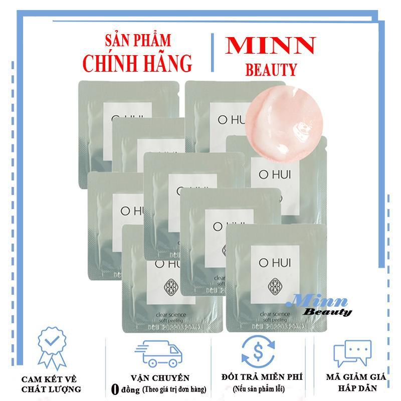 Combo 10 Tẩy Tế Bào Chết Ohui Clear Science Soft Peeling 1mlx10 tốt nhất