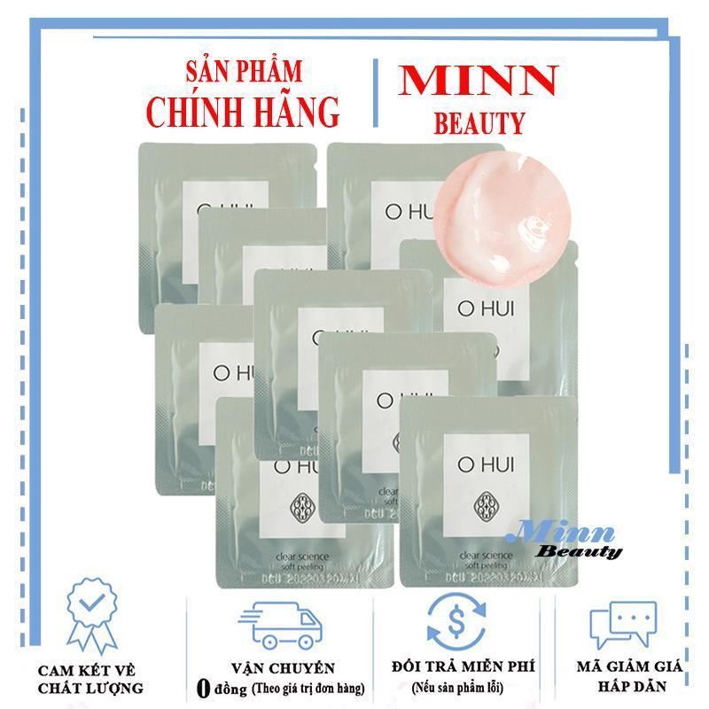 Combo 10 Tẩy Tế Bào Chết Ohui Clear Science Soft Peeling 1mlx10