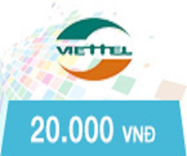 [HCM]Thẻ Viettel 20.000 VNĐ
