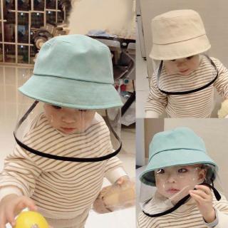 Tôi Yêu Daddy & Mummy Mới Mũ Trẻ Em Màu Trơn Bảo Vệ An Toàn Mũ Trẻ Em Nam Nữ Mũ Tai Bèo Mùa Hè Mùa Xuân