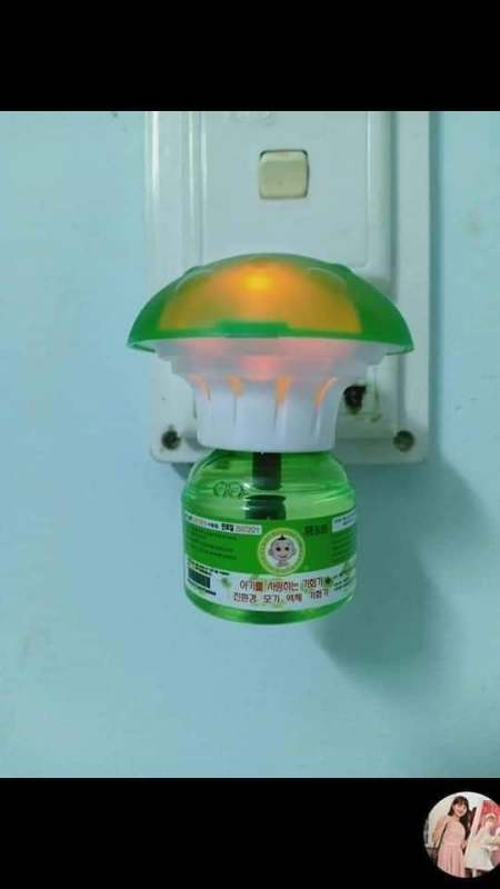 Đèn đuổi muỗi Hàn Quốc + 2 lọ tinh dầu