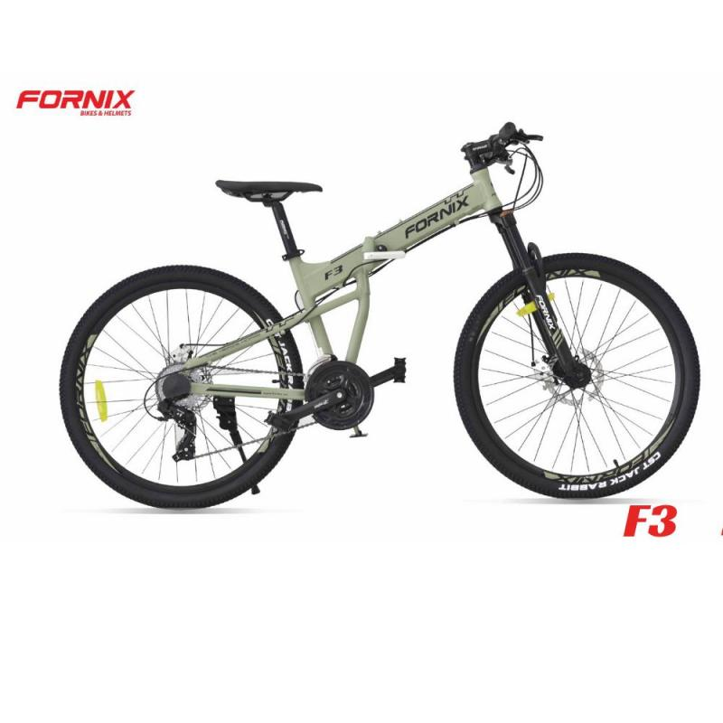 Mua Xe đạp gấp thể thao F3 màu XÁM XANH
