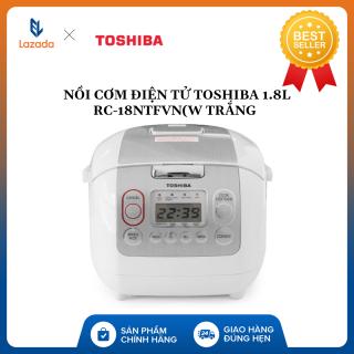 Nồi cơm điện tử Toshiba 1.8 lít RC-18NTFV(W) - HÀNG CHÍNH HÃNG