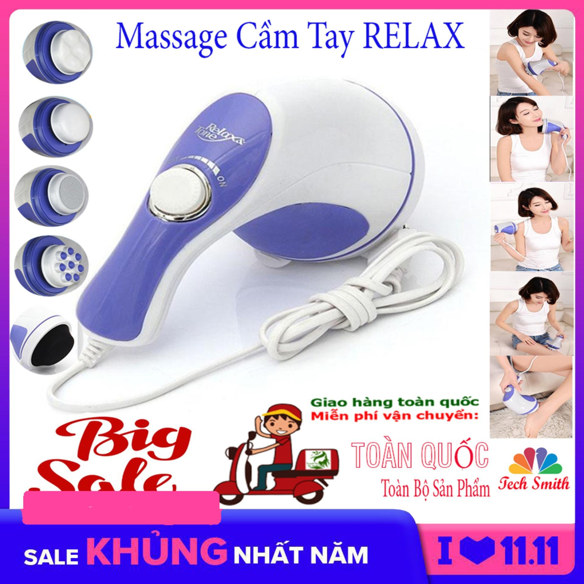 Máy Đấm Lưng Hàn Quốc_Massage Cầm Tay 5 Đầu Đánh (Relax)Cao Cấp Giá Rẻ  Chất Lượng Vượt Trội Giảm Nhức Mỏi,Xả Trest Hiệu Quả.Giá Hấp Dẫn(-50%) Bh 1 Đổi 32 Mã 049TSM3958 Có Giá Tốt