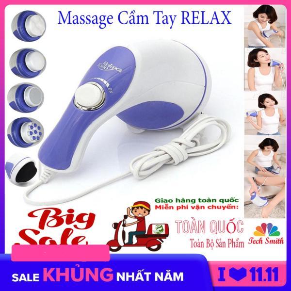 Máy Đấm Lưng Hàn Quốc Massage Cầm Tay 5 Đầu Đánh (Relax)Cao Cấp Giá Rẻ  Chất Lượng Vượt Trội Giảm Nhức Mỏi,Xả Trest Hiệu Quả.Giá Hấp Dẫn(-50%) Bh 1 Đổi 32 Mã 049TSM3958