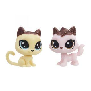 Đồ chơi Littlest Pet Shop Bộ đôi Mèo Quyến Rũ E1073 E0399 thumbnail